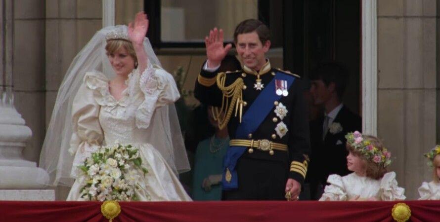Свадьба принцессы Дианы и принца Чарльза в 1981 году