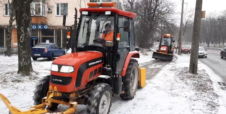 снег, киев, уборка, техника