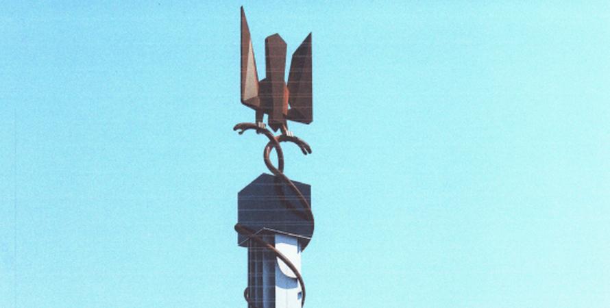 Київ, Дарниця, пам'ятник, ЗСУ, бійці, Донбас,