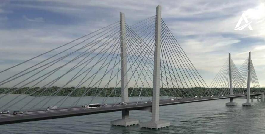 Укравтодор, мост, кременчук, строительство, турция