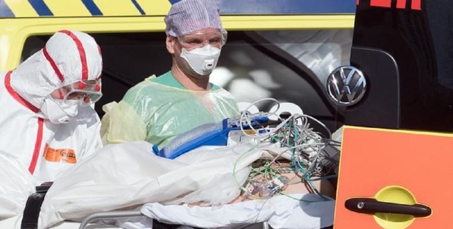 коронавірус в Німеччині, пандемія covid-19, госпіталізація