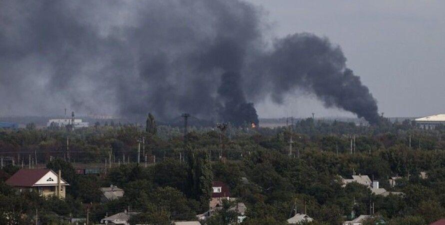 Обстрел Донецка / Фото: Reuters