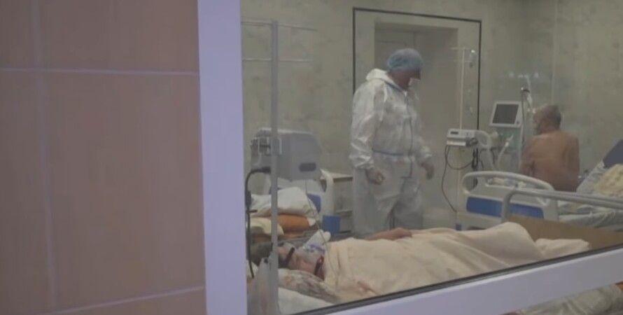 Врач, пациент, больница, коронавирус