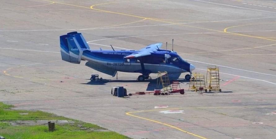 літак, ан-28, фото