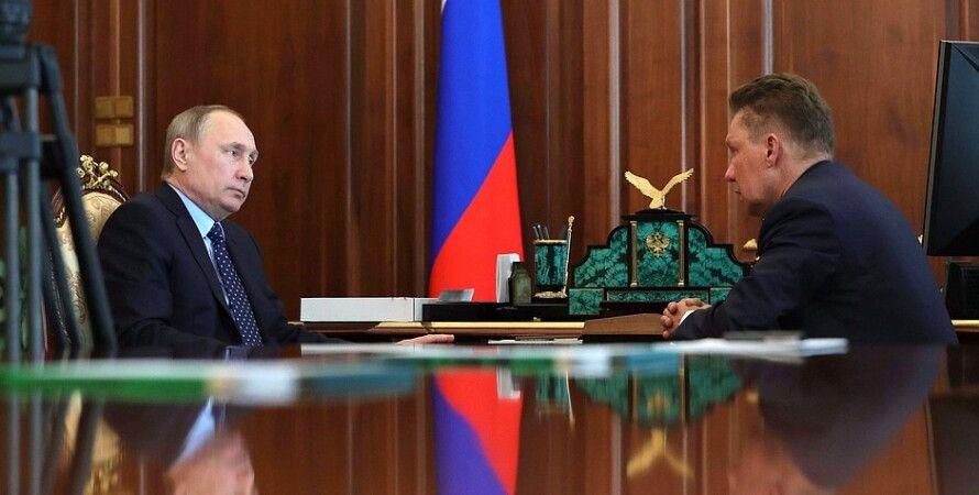 Владимир Путин и Алексей Миллер / Фото: правительство РФ