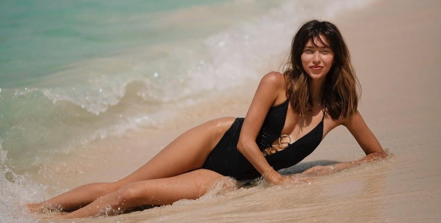 Регіна Тодоренко, океан, фото