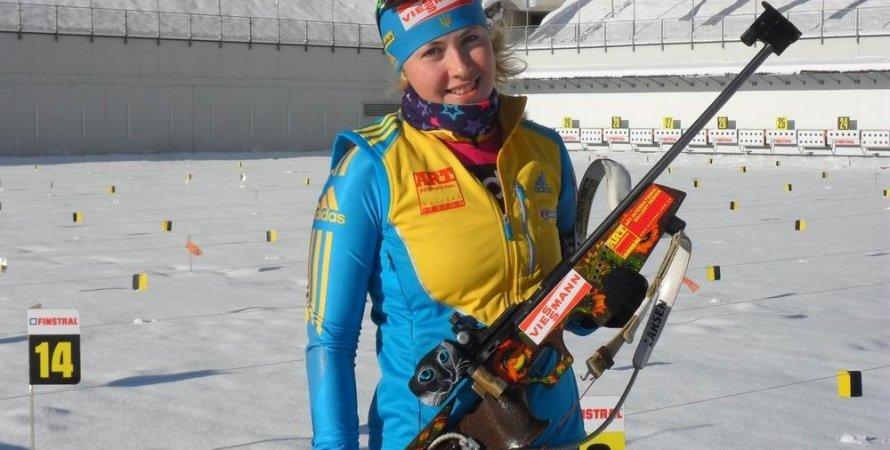 Юлия Джима / Фото: biathlon.com.ua