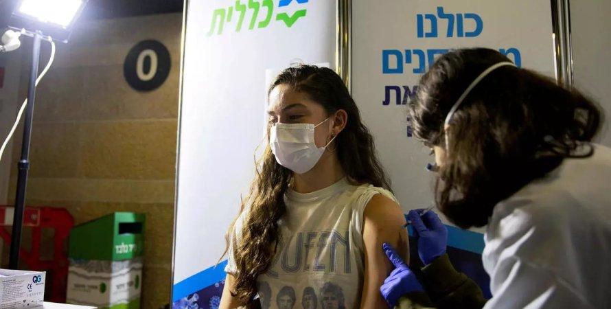 Израиль, вакцинация в Израиле, вакцина Pfizer, коронавирус дельта
