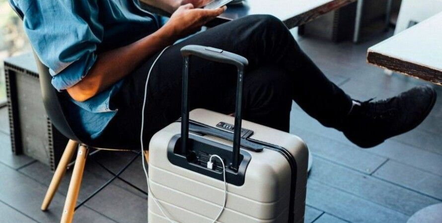 """""""Умный"""" чемодан / Фото: urbantastebud.com"""
