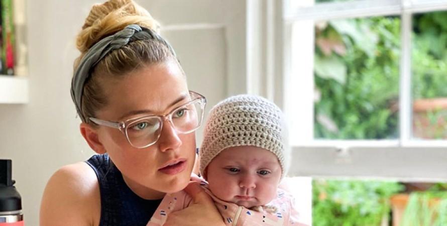 Ембер Герд з дочкою Уною Пейдж