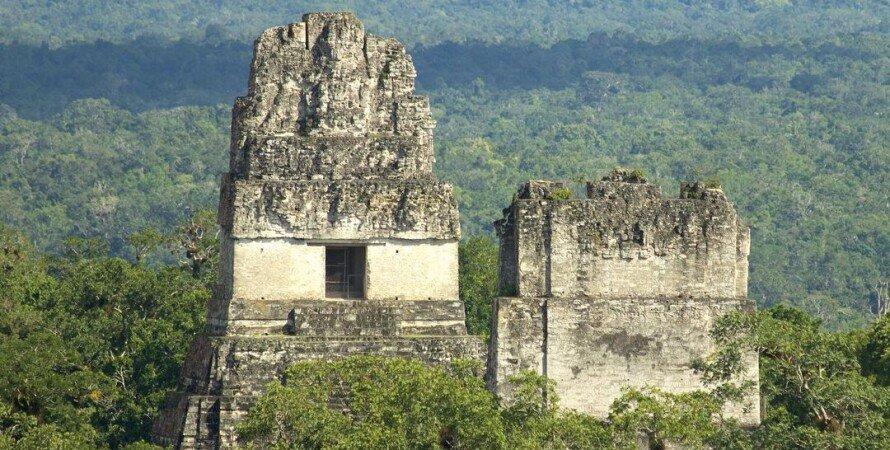 тикаль, гватемала, руины