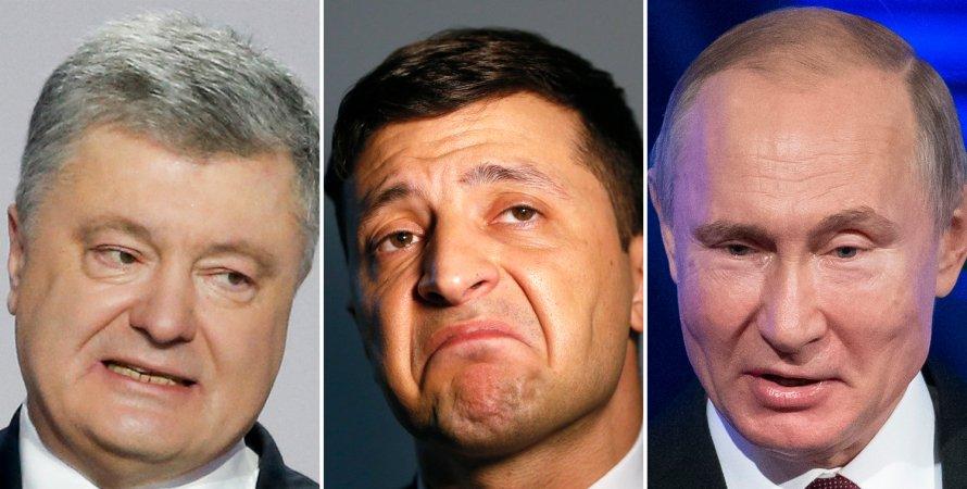 Порошенко, Зеленский, Путин, кгб, квн, путин переиграет зеленского, порошенко дал совет зеленскому