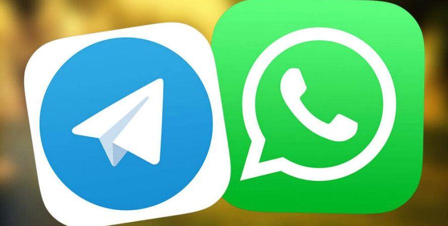 whatsapp, telegram, сбой, подключение, отправка сообщений, 8 февраля 2021 года
