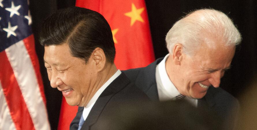 Сі Цзіньпін, Джозеф Байден, США, Китай — фото