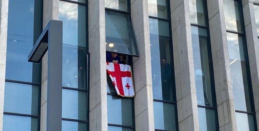 Грузия, Тбилиси, Никанор Мелия, Саакашвили, задержание, премьер-министр