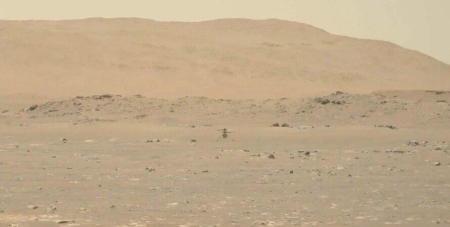 Ingenuity, вертолет, Марс, NASA, первый полет