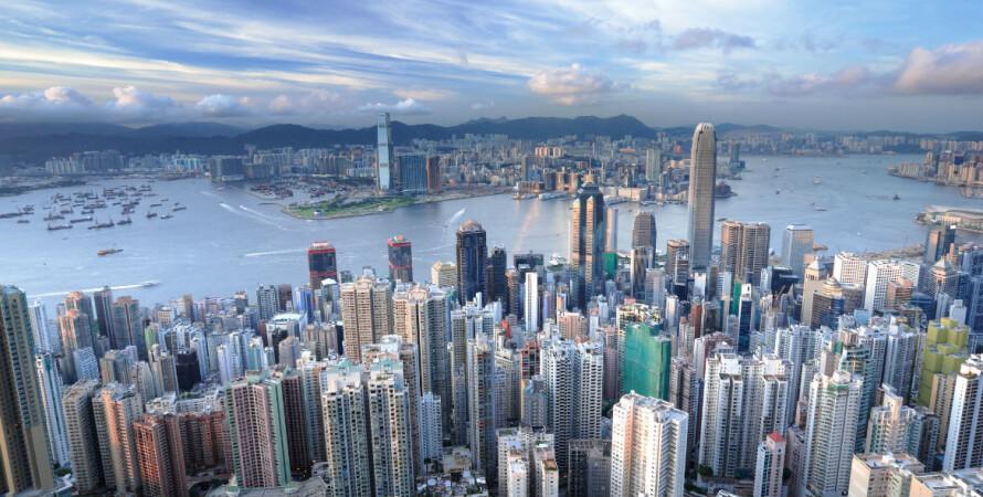гонконг, вид города