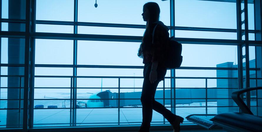 Аеропорт, польоти, США, Україна, літаки