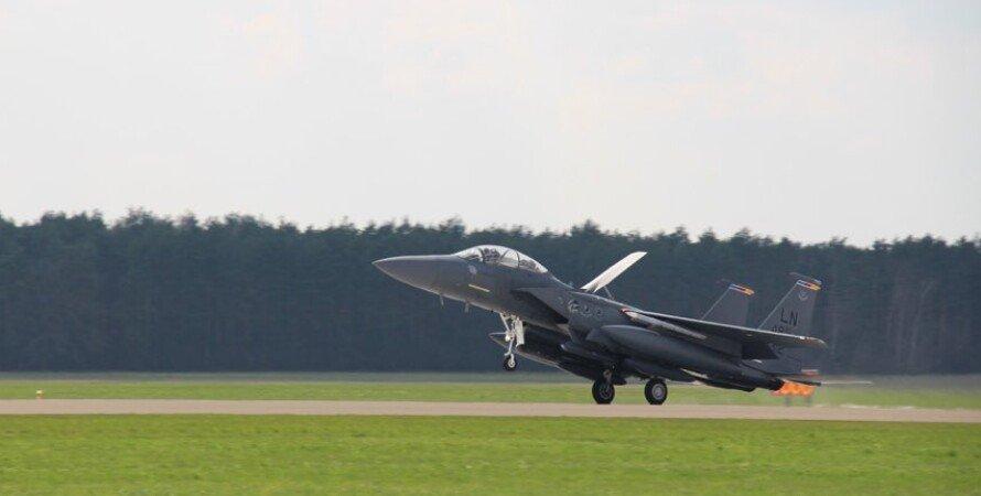 Польша, США, F-15 и F-16, истребители, боевые, сша перебросили в европу авиацию