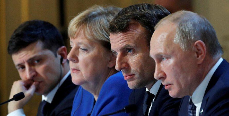 Дмитрий Песков, Нормандский формат, Саммит, Париж, Договоренности