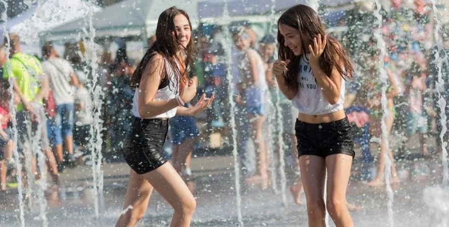 Киев, жара, лето, температура, рекорд,