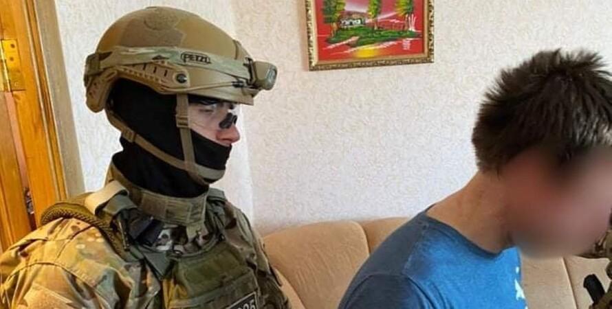 Луганск, Рубежное, водитель, мопед, граната,