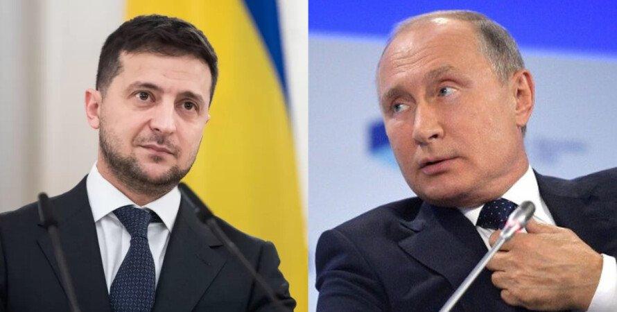 Зеленский, Путин, Донбасс, эскалация, переговоры,