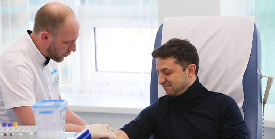 Владимир Зеленский, вакцинация, вакцина, вакцина от коронавируса, укол, анализы