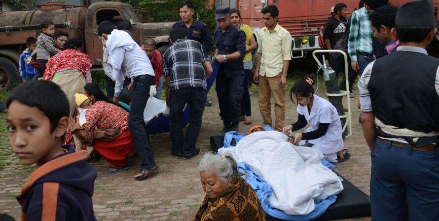 Последствия землетрясения в Непале / Фото: AFP