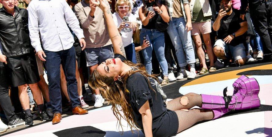 Леди Гага, Лос-Анджелес