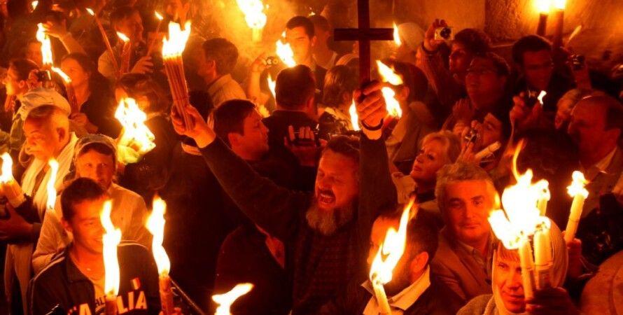 Схождение Благодатного огня / Фото: Losandes.com.ar