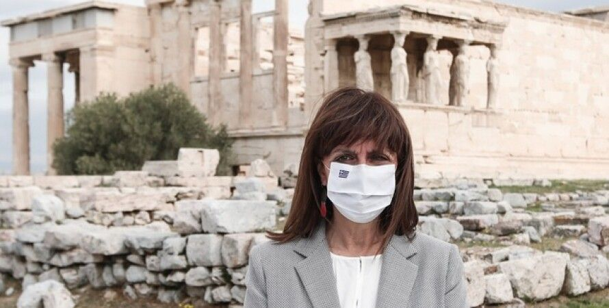 Греция, Катерина Сакелларопулу, Владимир Зеленский, вакцина, коронавирус в Украине