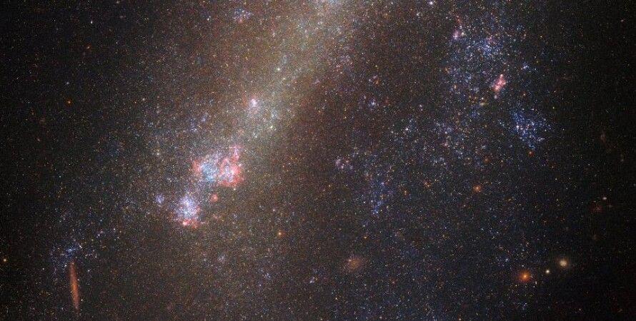 Разорванная галактика / Фото: NASA