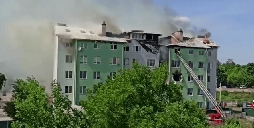 Белгородка, киев, взрыв под киевом, киев, здание, дом под киевом взрыв, киевская область, пожар, ребенок, жилой дом