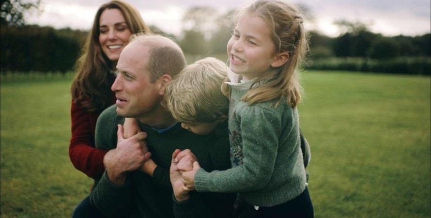 герцоги Кэмбриджские , Кейт Миддлтон, принц Уильям, дети