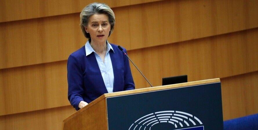 Євросоюз, Єврокомісія, Урсула фон дер Ляєн, пандемія коронавірусу, вакцина від коронавірусу