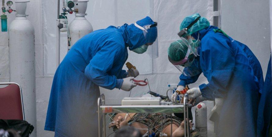 пандемия коронавируса, коронавирус в Индонезии, дельта штамм коронавируса