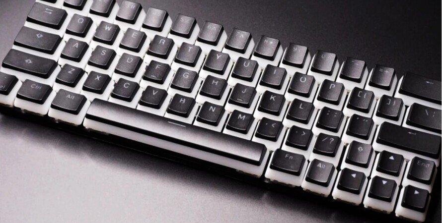клавиатура может печатать 250 слов в минуту