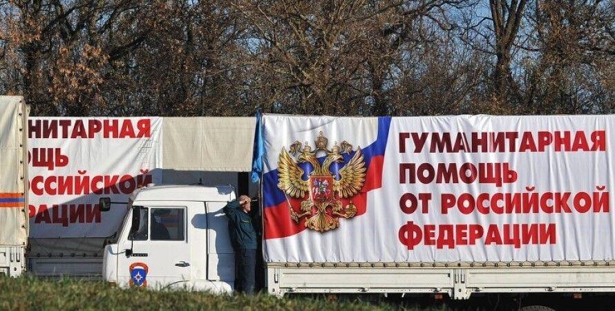 Российский гумконвой / Фото: РИА Новости