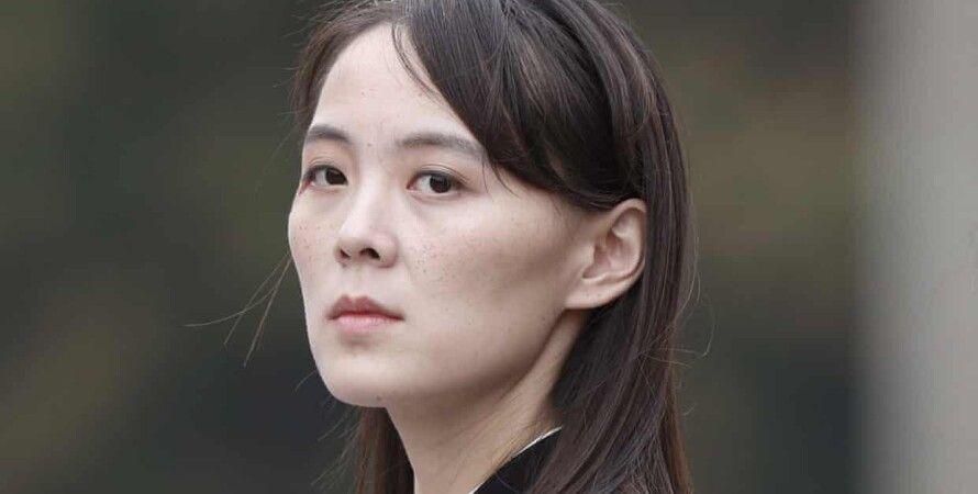 Младшая сестра лидера КНДР Ким Е Чжон/Фото: The Korea Times
