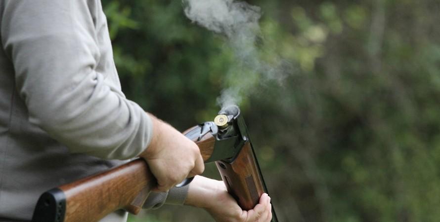 Охотничье ружье, киевская область, фастов, бышев, работодатель, владелец фирмы, стрельба, ружье, сотрудник, зарплата