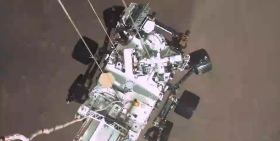 посадка на марс, видео посадки на марс
