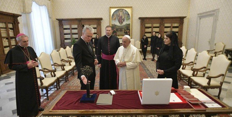 представительство папы римского в украине
