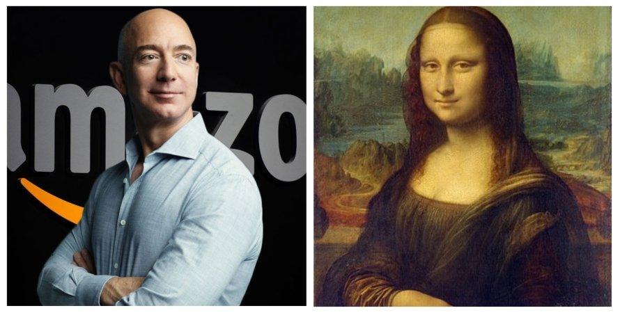Джефф Безос, Мона Ліза, продаж