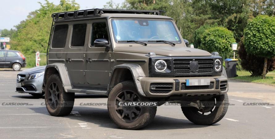 Mercedes-Benz G-Class 4×4²