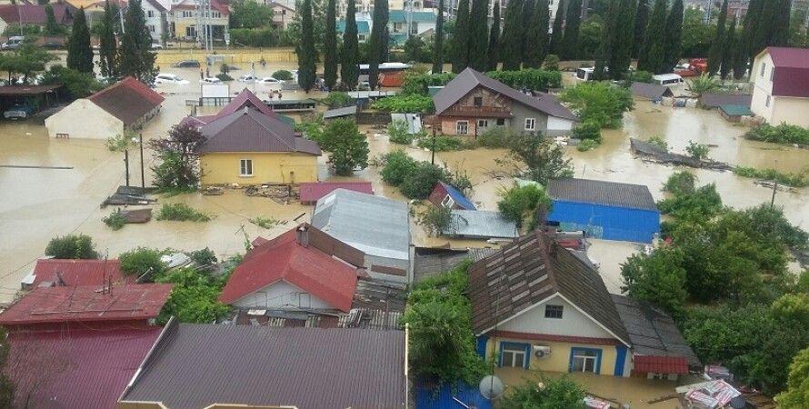 Наводнение в Сочи / Фото из открытых источников