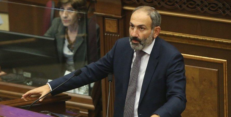 Никол Пашинян, Армения, Отставка, Парламентские выборы, Телеобращение