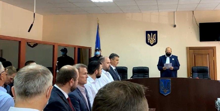 Віктор Медведчук, Печерський суд
