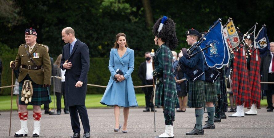 Принц Вільям, Кейт Міддлтон, Шотландія