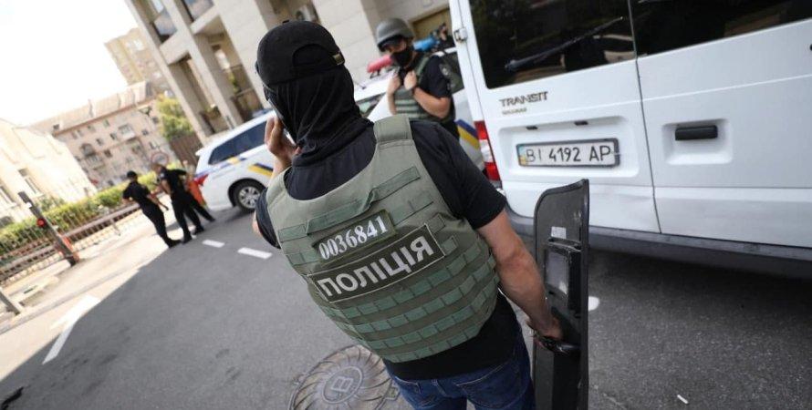 Полиция, стрельба в Киеве